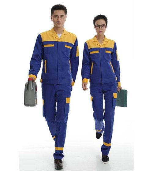 Top 10 mẫu quần áo bảo hộ lao động đẹp nhất 2018