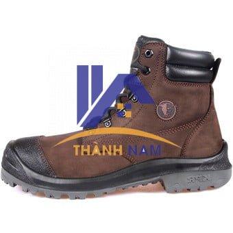 Giày bảo hộ King Power M22B Màu Nâu, Chất liệu da Nubuck