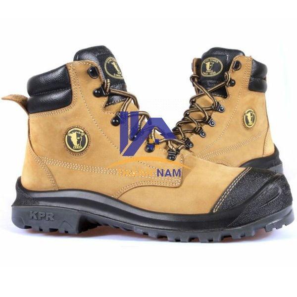 Giày bảo hộ King Power M222 Màu Vàng, Chất liệu da Nubuck