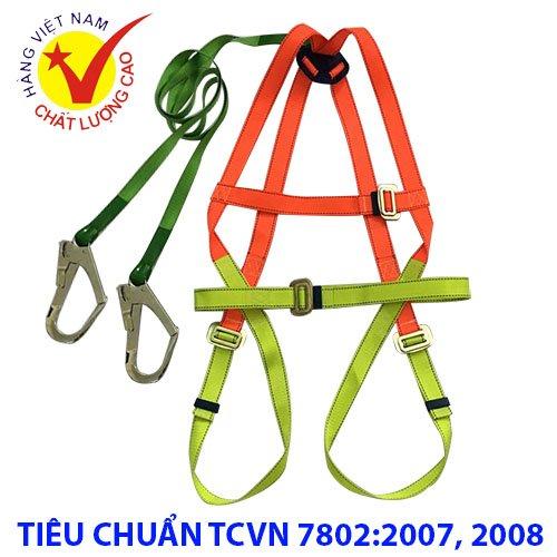Dây đai an toàn toàn thân 2 móc lớn Tenma - Dây an toàn Nhật Quang