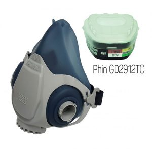 Mặt nạ phòng độc Restech RM 7200 + Phin GD2912TC
