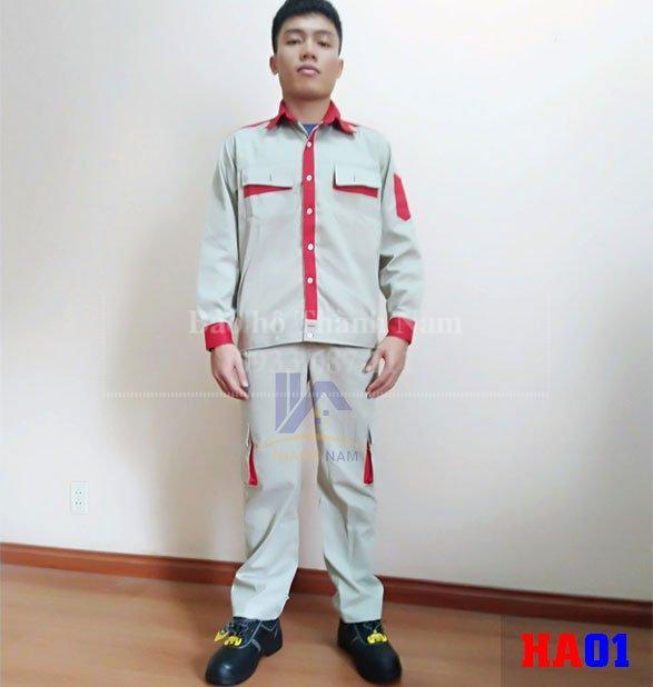 Quần áo bảo hộ lao động Hàn Quốc HA01