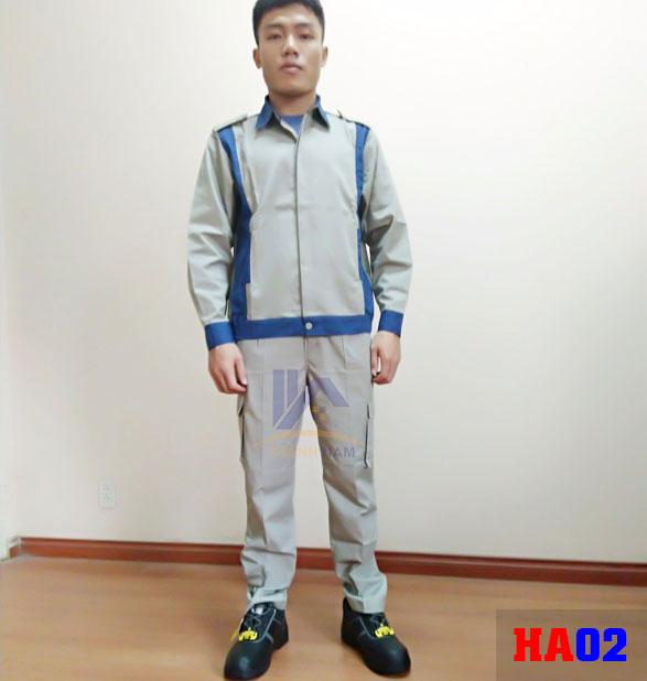 Quần áo bảo hộ lao động Hàn Quốc HA02