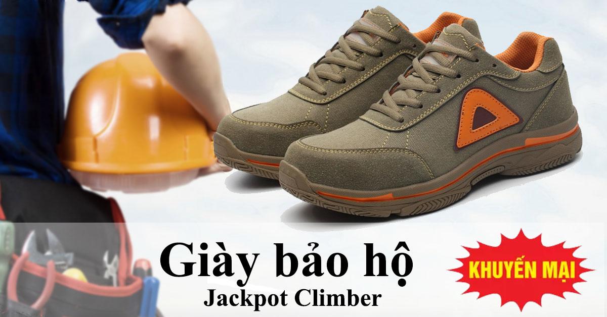 Giày bảo hộ siêu nhẹ Jackpot Climber - Giày bảo hộ kiểu dáng thể thao