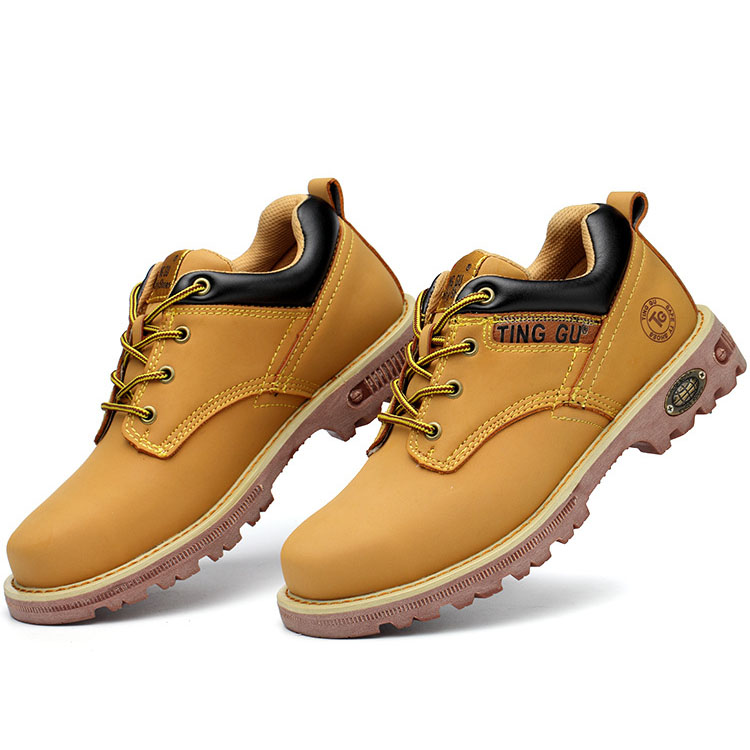 Giày bảo hộ Jackpot TingGu - Giày bảo hộ chất liệu da cao cấp