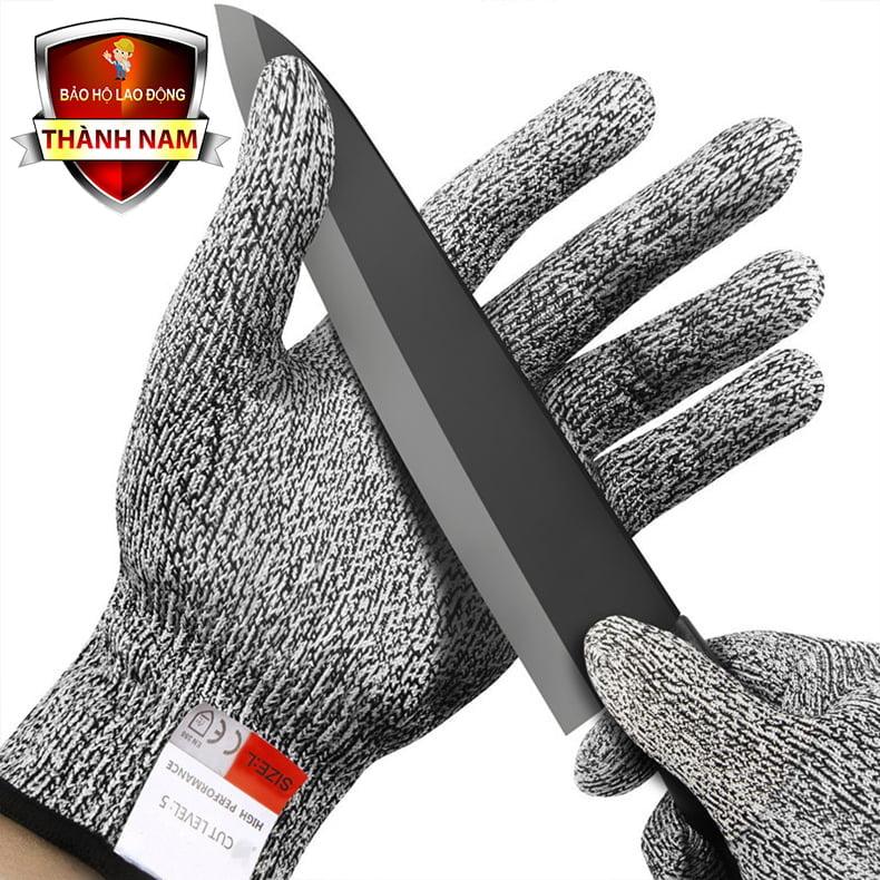 Găng tay chống cắt cấp độ 5, Chống cắt, chống trượt, chống mài mòn