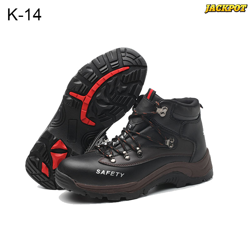 Giày bảo hộ da bò cao cấp Jackpot K-14